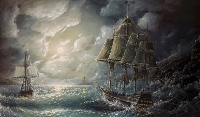 Кам'яні парусники - легенда Криму