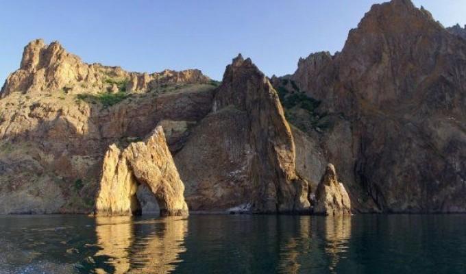 Кара-Даг - чорна гора - легенда Криму