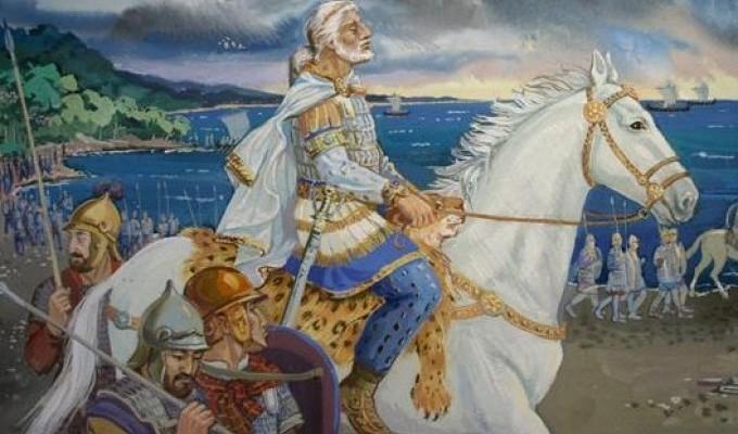 Смерть Мітрідата - легенда Криму