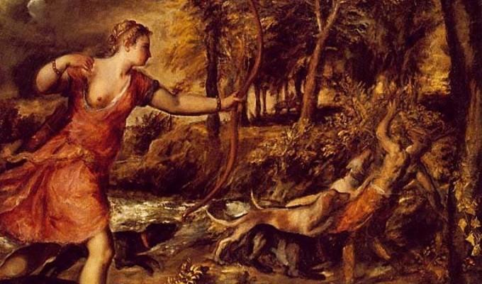 Актеон - грецький міф