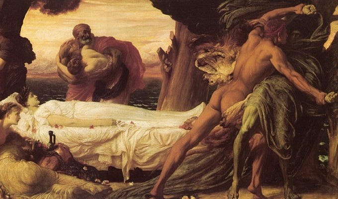 Аполлон в Адмета - грецький міф