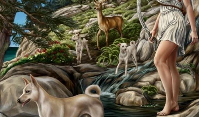 Артеміда - грецький міф