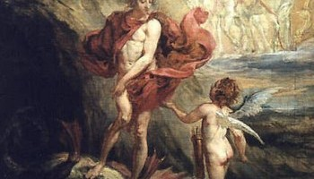 Боротьба Аполлона з Піфоном і заснування Дельфійського оракула - грецький міф