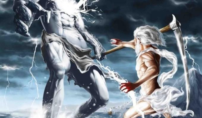 Боротьба Зевса з Тіфоном - грецький міф