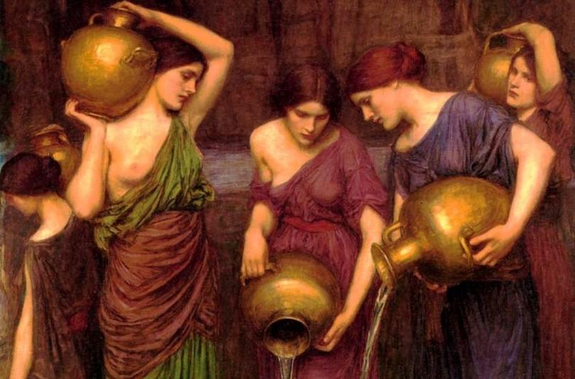 Данаїди - грецький міф