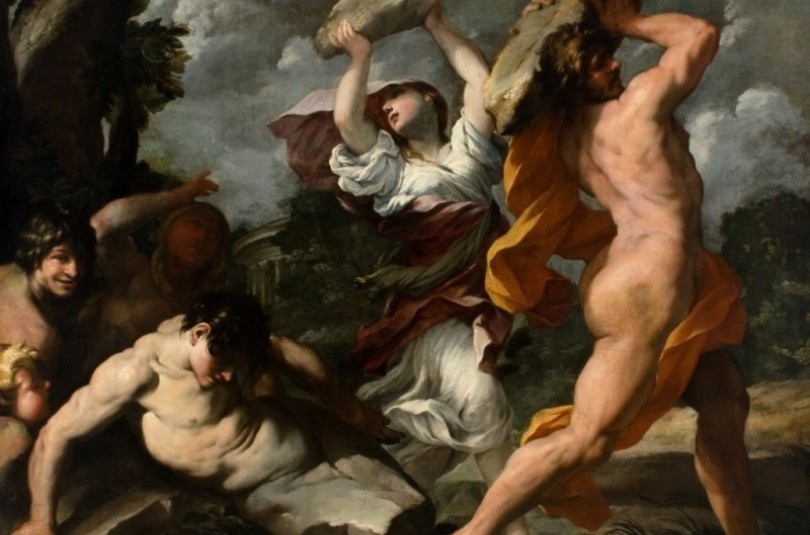 Девкалiон i Пiрра - грецький міф