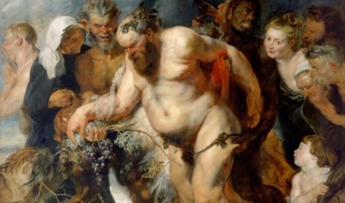 Дiонiс i його почет - грецький міф