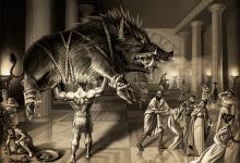 Еріманський кабан і битва з кентаврами - п'ятий подвиг Геракла - грецький міф