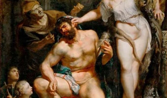 Геракл у Фiвах - грецький міф