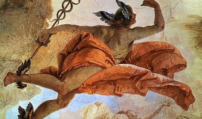 Гермес - грецький міф