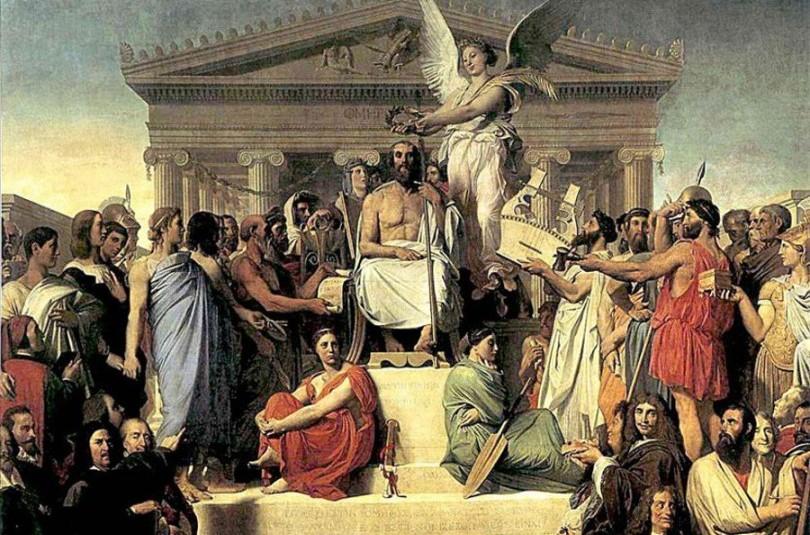 Олімп - грецький міф