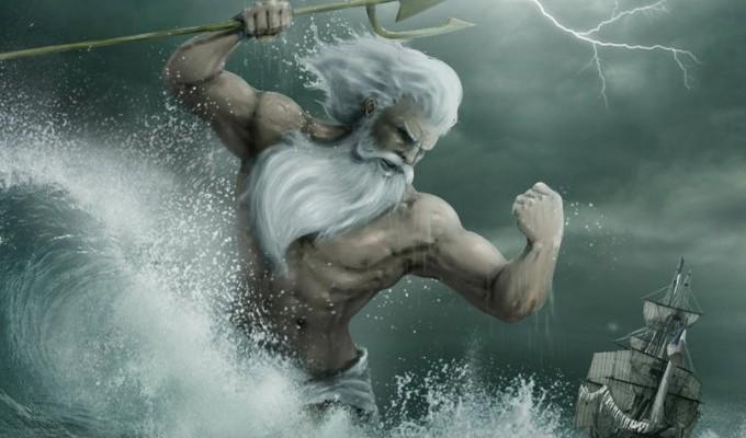 Посейдон і божества моря - грецький міф