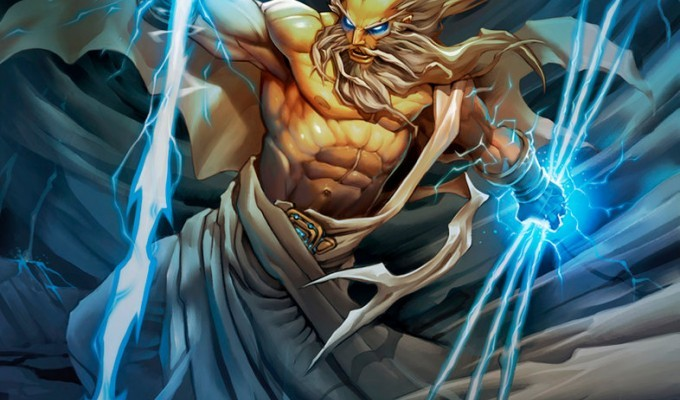 Зевс. Народження Зевса - грецький міф