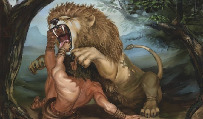 Немейський лев - перший подвиг Геракла - грецький міф