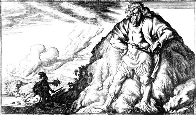 Персей i Атлас - грецький міф