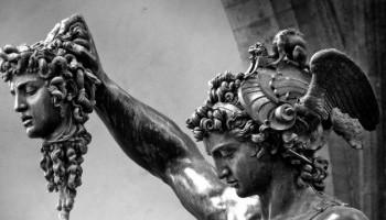 Персей убиває горгону Медузу - грецький міф