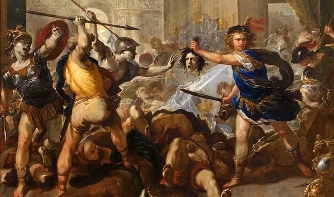 Повернення Персея на Серiф - грецький міф