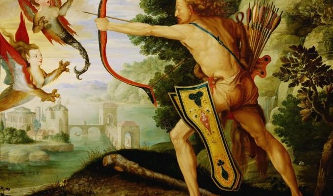 Стімфалійські птахи - третій подвиг Геракла - грецький міф